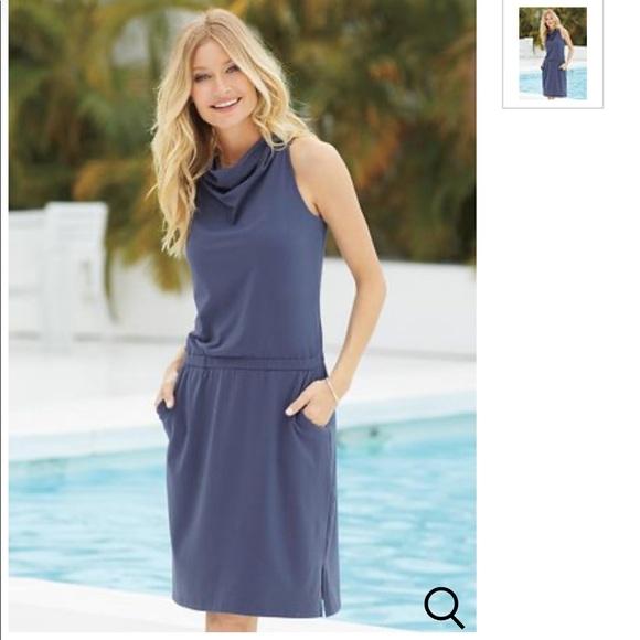 Aventura Dresses & Skirts - NWT aventura clothing dress Avondale blue XS